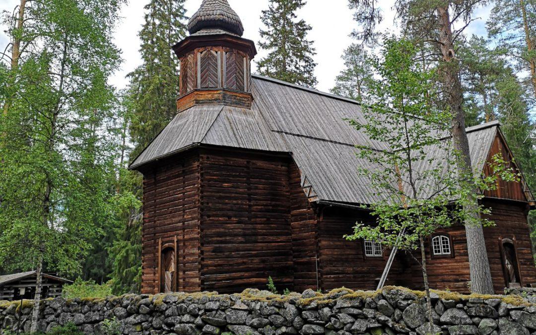 Pihlajaveden vanha kirkko – Erämaakirkko